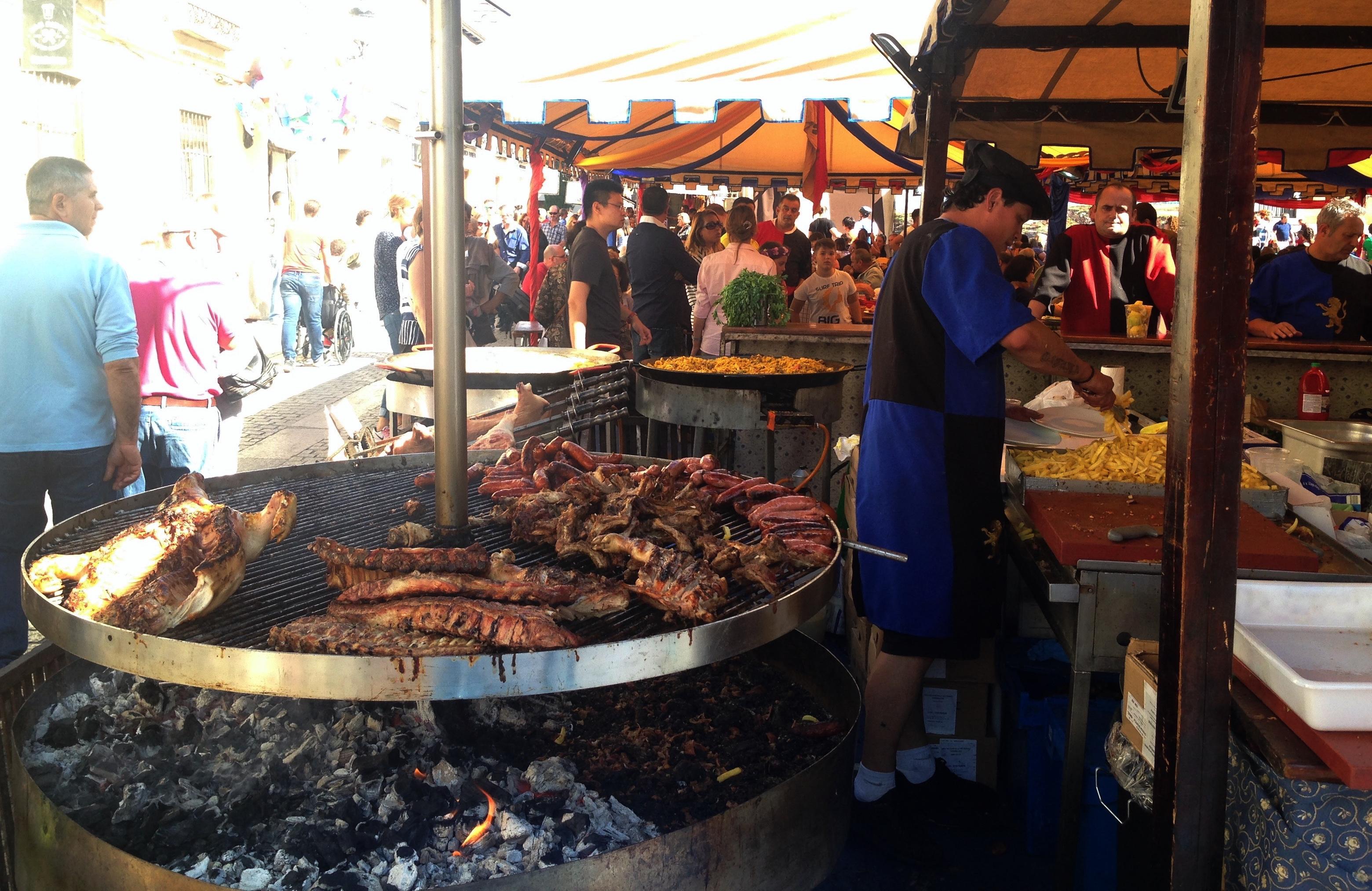 Alcala Food Stand