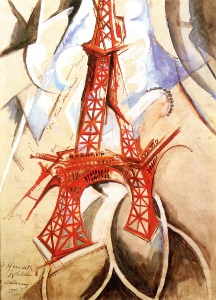 Eiffen Tower Delaunay