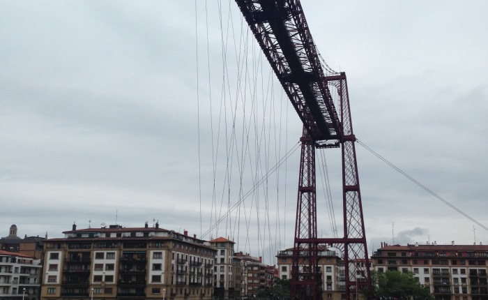 Basking in the Basque Country: the Vizcaya Bridge