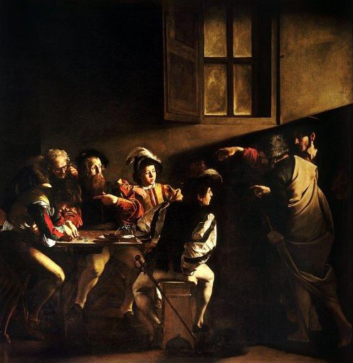 800px-The_Calling_of_Saint_Matthew-Caravaggo_(1599-1600)