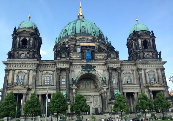 Berlin Cathedral Exterior