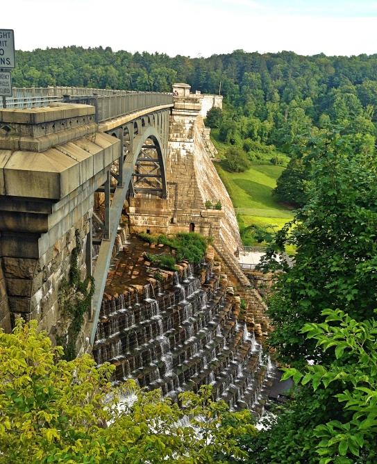 Croton Dam Side