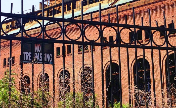 Two Hudson Ruins—Part 1, Yonkers Power Plant