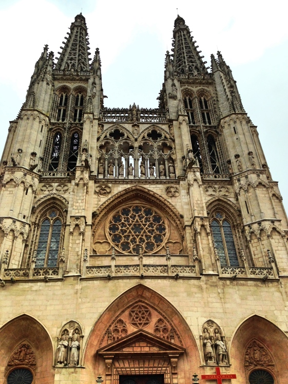 Burgos Cathedral Front