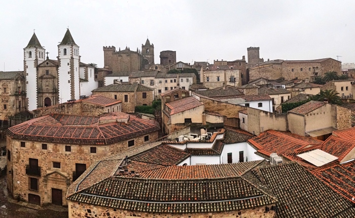 West to Extremadura:Cáceres