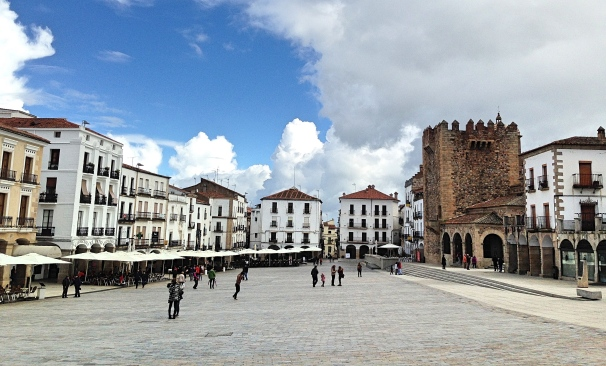 Caceres Plaza Mayor