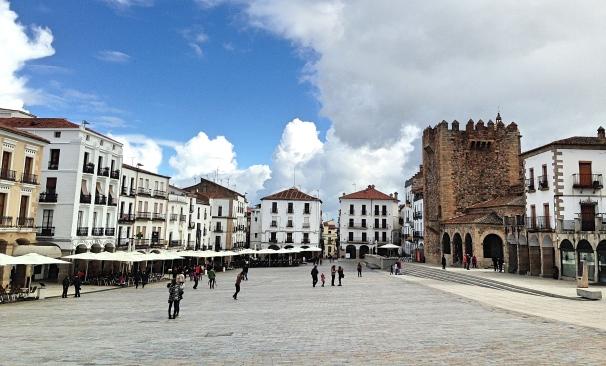 Caceres Plaza Mayor