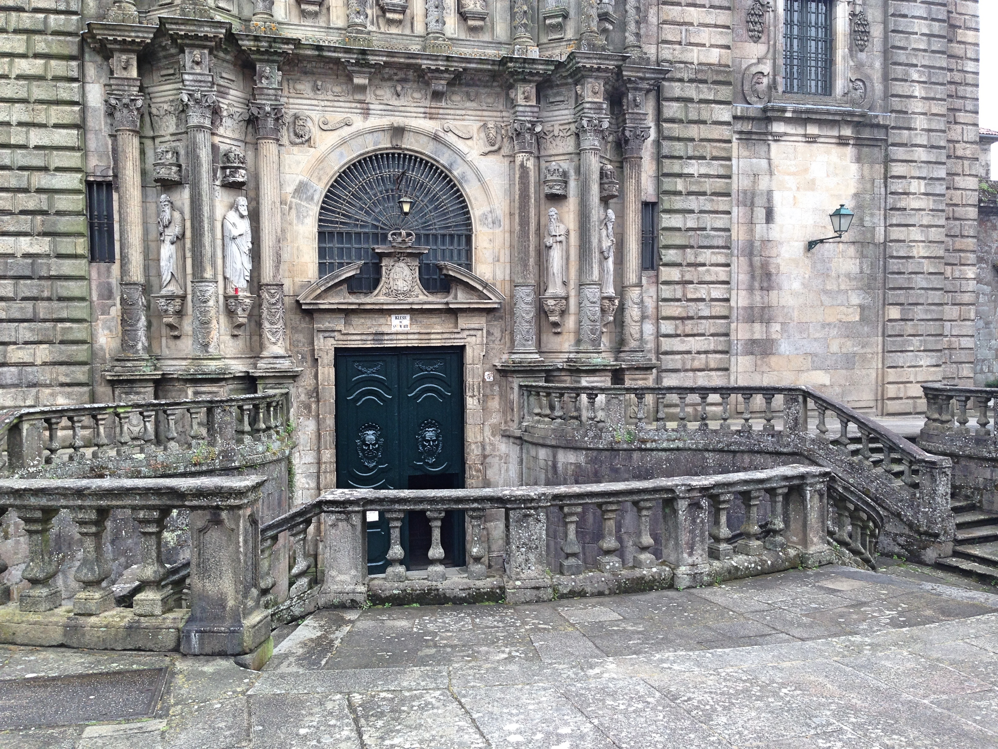 Monastery Church Entrance