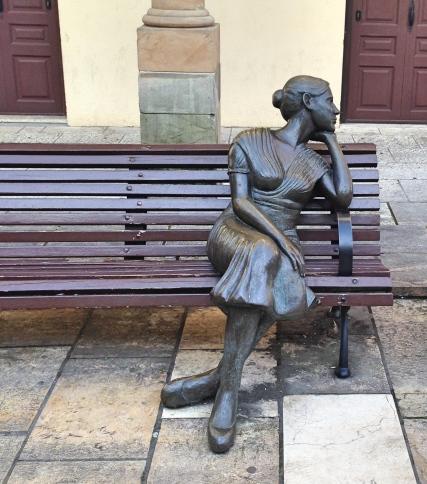 Oviedo Statue