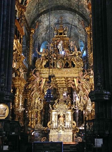 Santiago Main altar