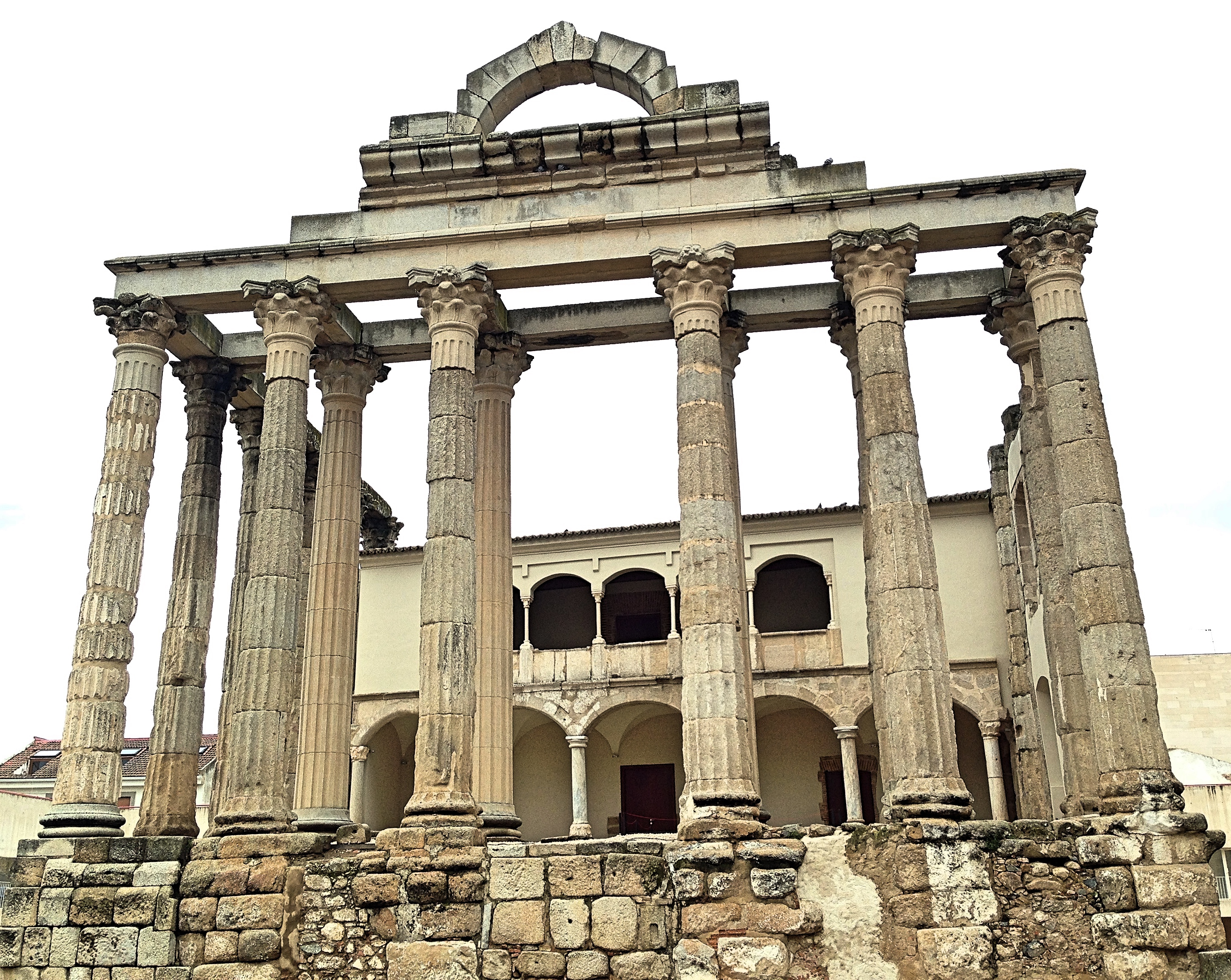 Templo de Diana Caceres