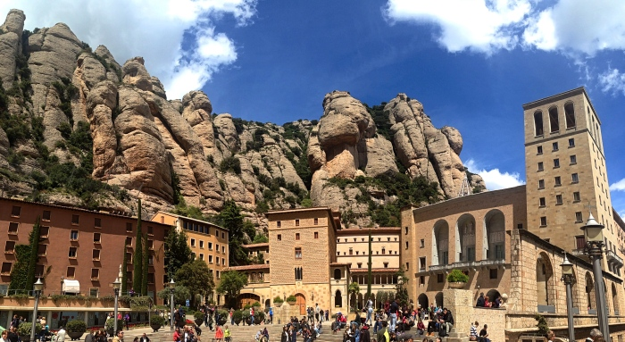 Homage to Catalunya: Montserrat (and Poblet)