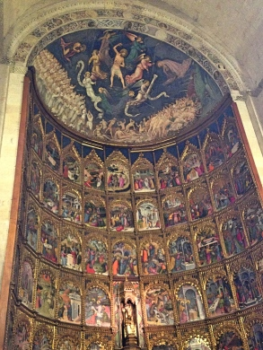 Salamanca_oldcathedralaltar
