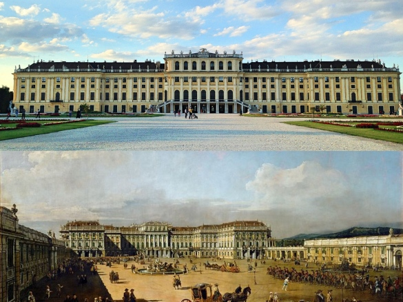 Schonbrunn_collage