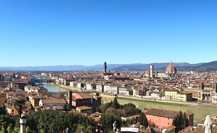 Touching Tuscany: Florence