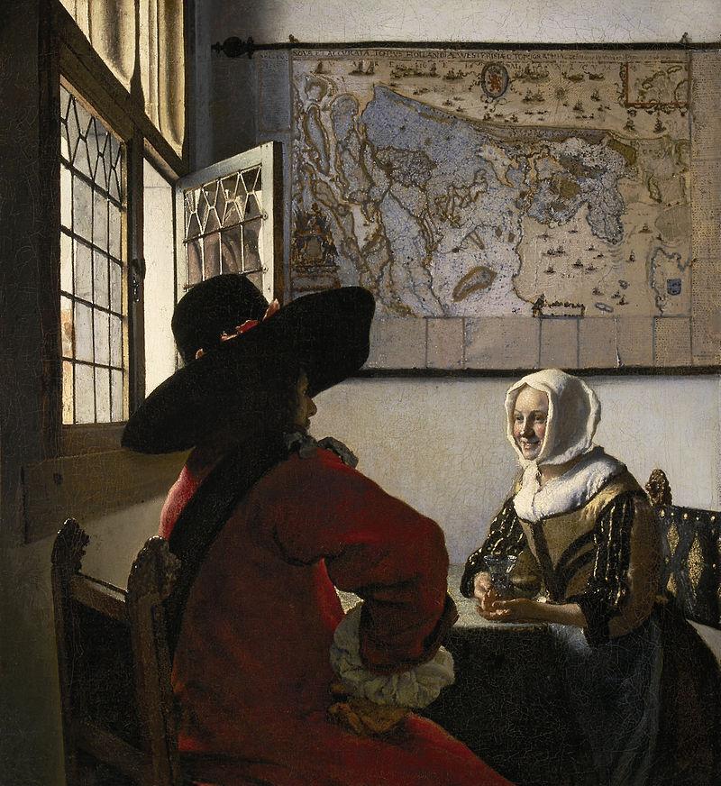 800px-Johannes_Vermeer_-_De_Soldaat_en_het_Lachende_Meisje_-_Google_Art_Project