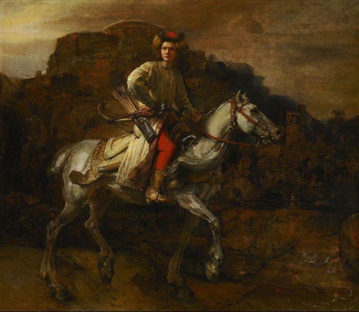 800px-Rembrandt_-_De_Poolse_ruiter,_c.1655_(Frick_Collection)