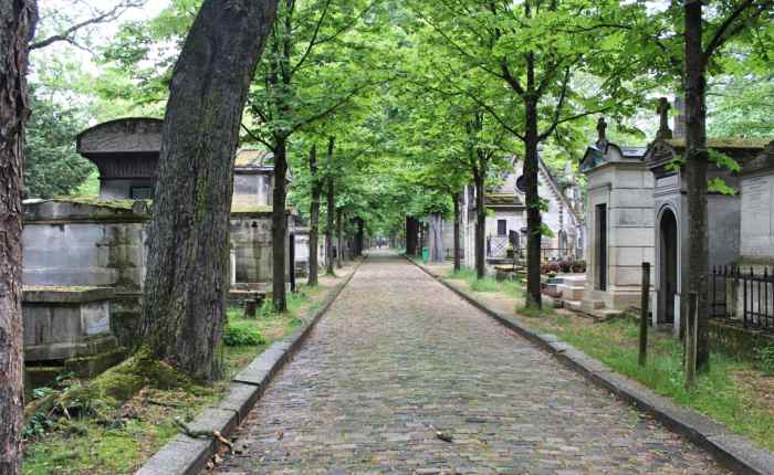 Paris: Cemeteries, Tombs, and Mausoleums